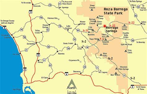 Anza Borrego Desert State Park Maps and weather   DesertUSA