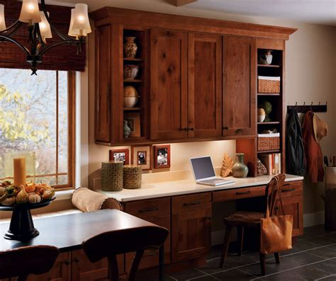 rustic style kitchen cabinets rustic hickory kitchen cabinets homecrest cabinetry