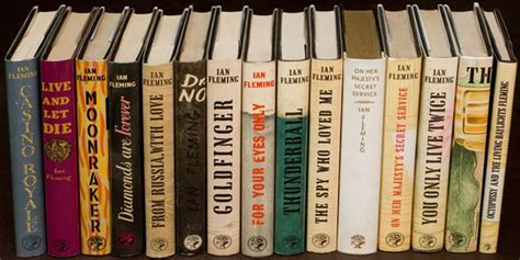 bonds books investing in ian fleming bond 007 edition books