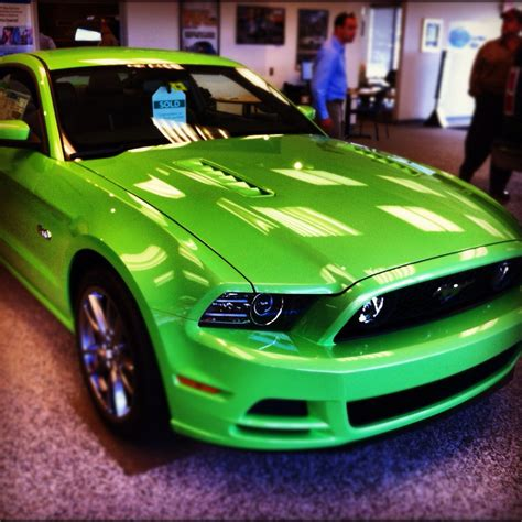 mustang gotta it green ford mustang heritage