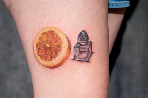 lemon tattoo sweetest citrus tattoos