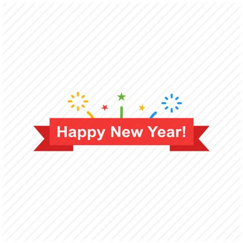 happy new year icons banner happy new year new year icon icon search