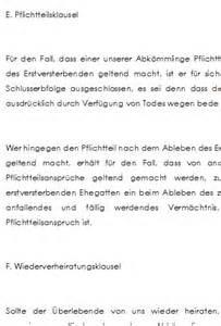 berliner testament einheitsl 246 sung mit kinder als schlusserben
