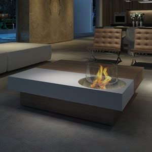 ethanol fireplace coffee table pin by gon 231 alves on be green landscape architecture