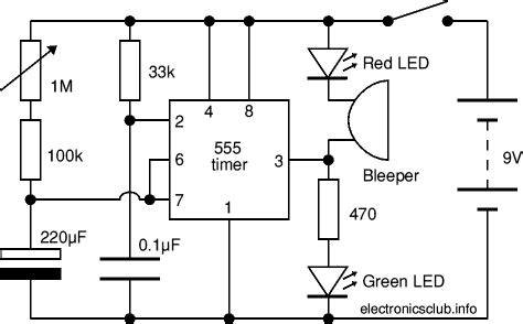 electronics club project 1 10 minute timer