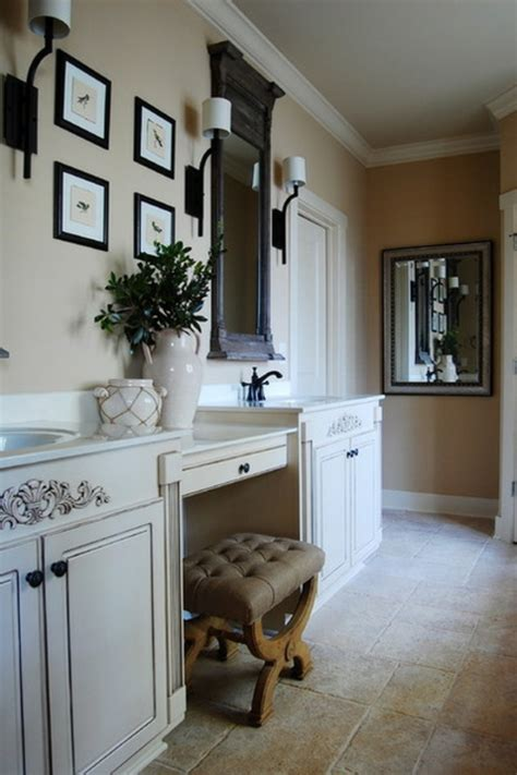 badezimmer vanity rustikal warmes rustikal eingerichtetes haus am alabama see