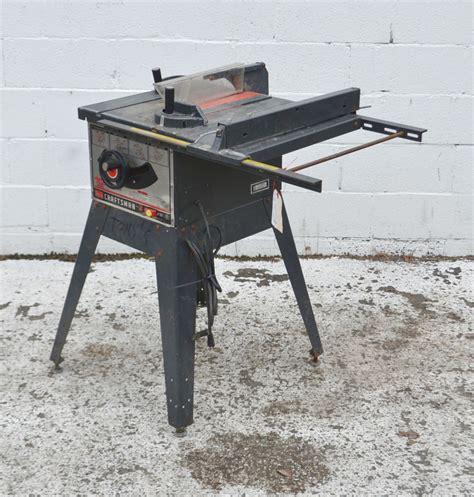 craftsman table saw model 113 craftsman 10 inch table saw model 113 295752 3758 39 ebay