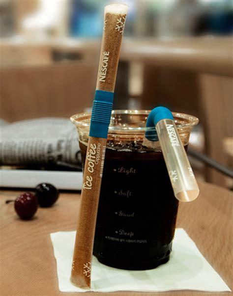 Sedotan Kopi Straw Coffe 15 desain kemasan unik dan kreatif untuk menginspirasi