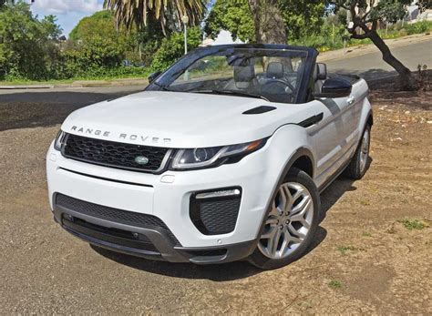 land rover evoque black convertible my test range rover evoque convertible was in hse dynamic
