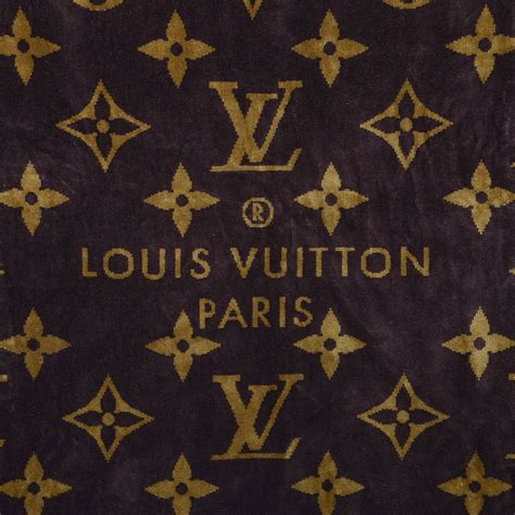 Rosie Gets In The Ring With Louisvuitton by Louis Vuitton Monogram Classic Towel Brown 85034