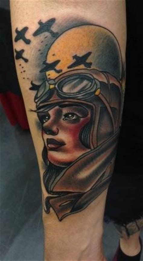 tattoo junkies aftercare arm aviator tattoo by art junkies tattoos
