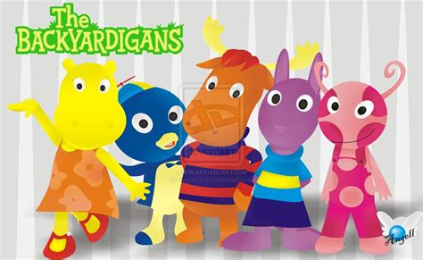 the backyard agains oo the backyardigans oo by angell0o0 on deviantart