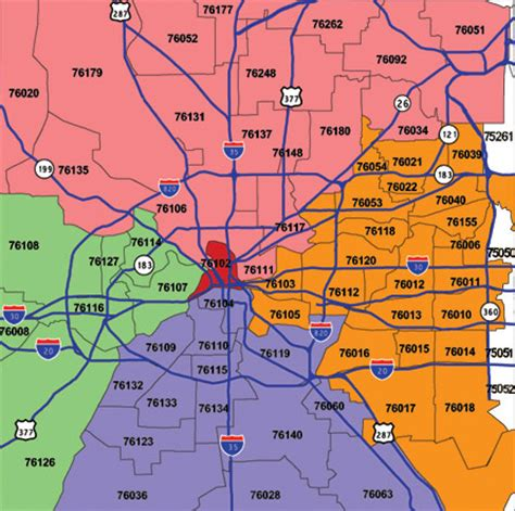 printable zip code map dallas tx fort worth zip codes by map zip code map