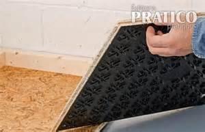 comment installer un sous plancher au sous sol en
