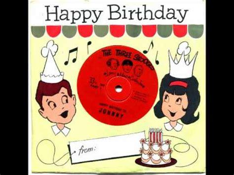 Birthday Records The 3 Stooges Happy Birthday Record