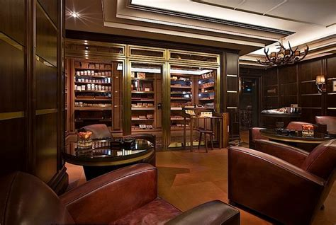 robusto room cigar room on billiard room interiors and doors