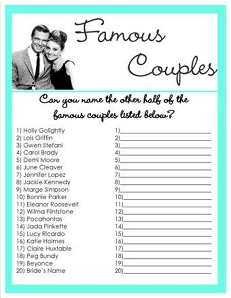 printable games for married couples wedding shower games valentines games wedding shower