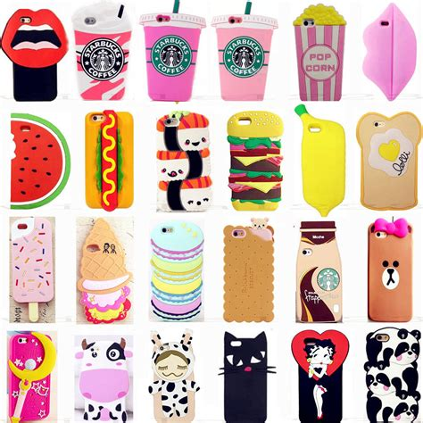 Iphone5 3d Kisd 3d soft silicone gel rubber cover skin for iphone samsung huaw ebay
