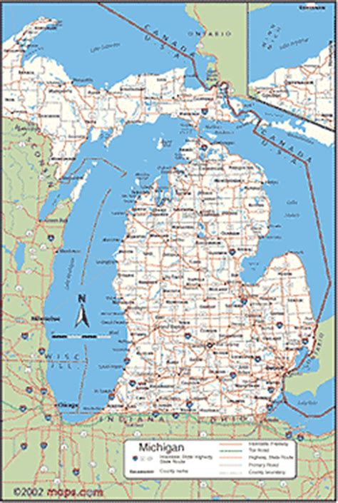 map michigan map of michigan 187 hadiyaaa