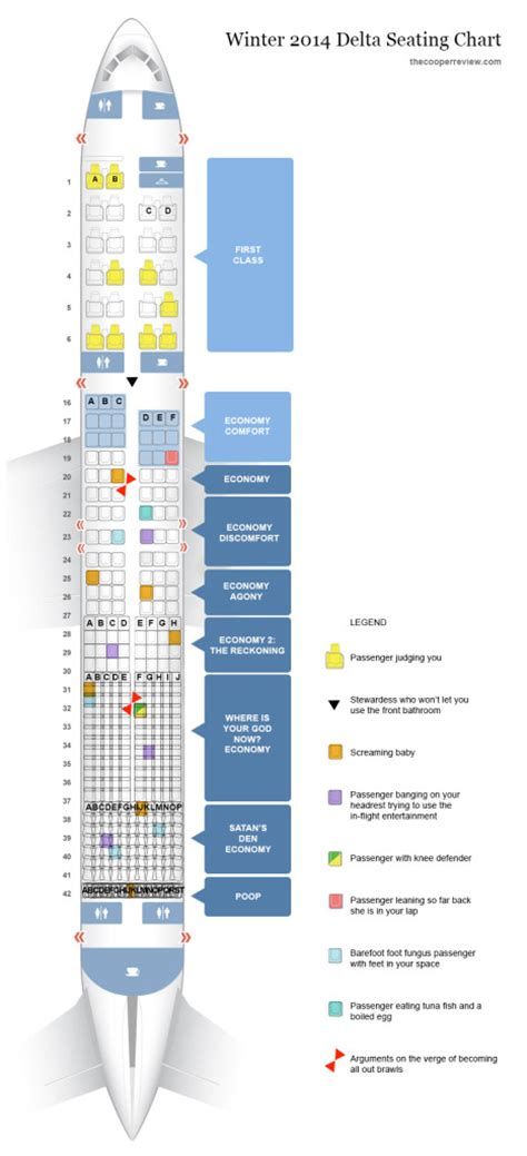 delta seating charts delta s new airplane seating chart