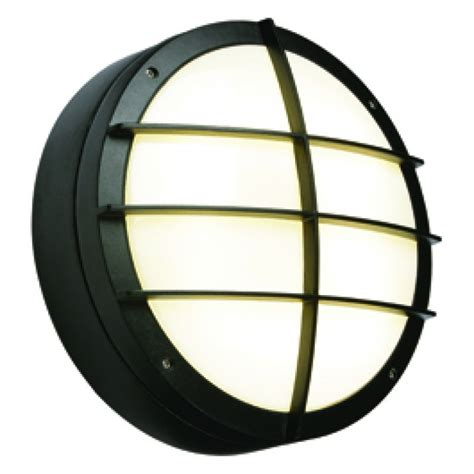 Outdoor Emergency Lighting Saxby 7014b Lake 28w Outdoor Bulkhead Light Black Commercial Lighting By Right Lights