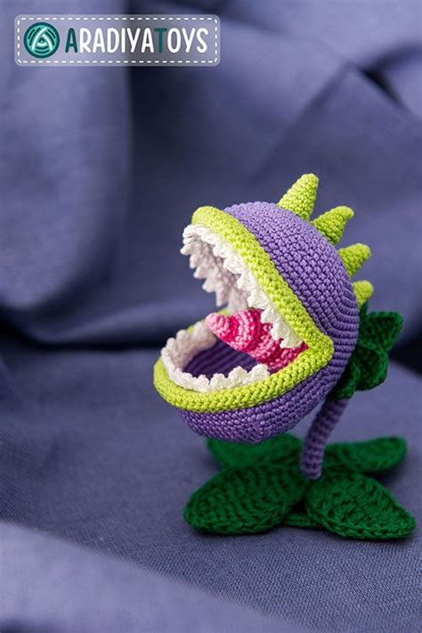 amigurumi zombie pattern chomper plants vs zombies amigurumi pattern by