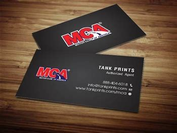 Mca Business Cards mca business card design 3