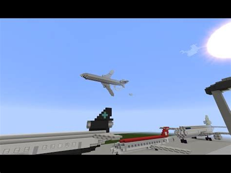 minecraft aircrash investigation | american airlines
