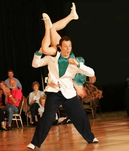swing dance video interesting information about the style of swing dance
