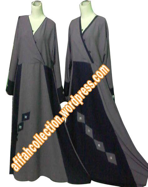 Gamis Biru Dongker Merah Muda gamis umbrela kombinasi abu abu hitam afifah collection