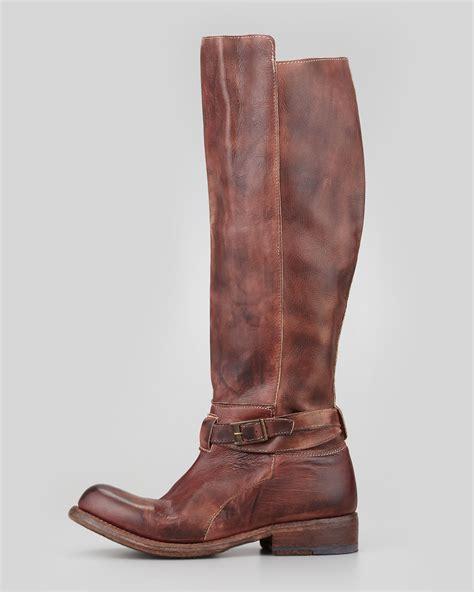 bed stu bristol bed stu bristol rustic boot teak in brown lyst