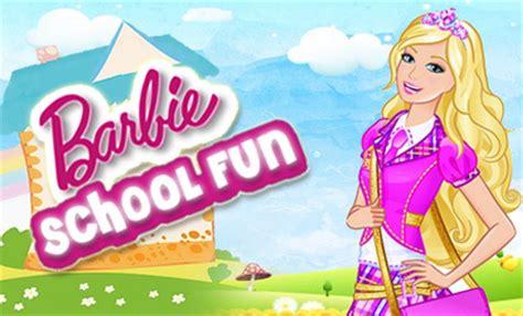 barbie school fun game information | free flash game | z14