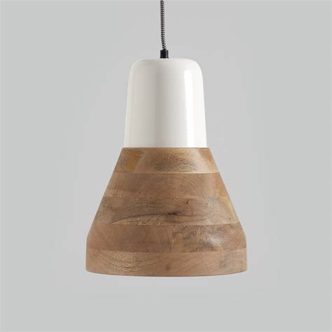 wood lantern pendant light reykjav 237 k white and wood pendant light by horsfall