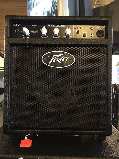 max 174 158 peavey peavey max 158 bass combo drums etc reverb