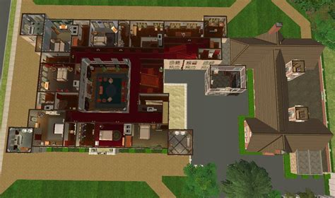 downton abbey floor plan mod the sims downton abbey highclere castle no cc