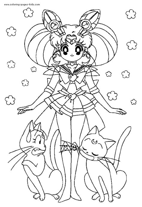 Sailor Moon color page   Coloring pages for kids   Cartoon