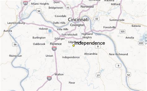 independence kentucky map independence weather station record historical weather