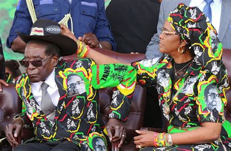 mad womens of zimbabweans grace mugabe a mad woman with no brains was in charge of
