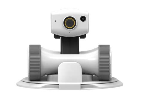 app enabled security robot with vision