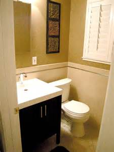 Ideas For Small Bathroom by Small Bathroom Design Ideas