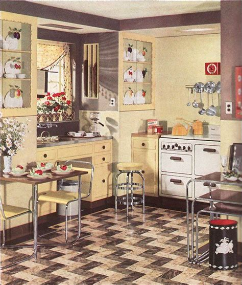 1930s kitchen floors 229 best images about 1930s and 1940s american homes on pinterest stove vintage kitchen and