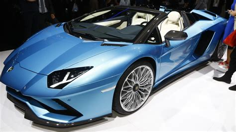 lamborghini aventador s roadster for sale usa 2018 lamborghini aventador s roadster motor1 com photos