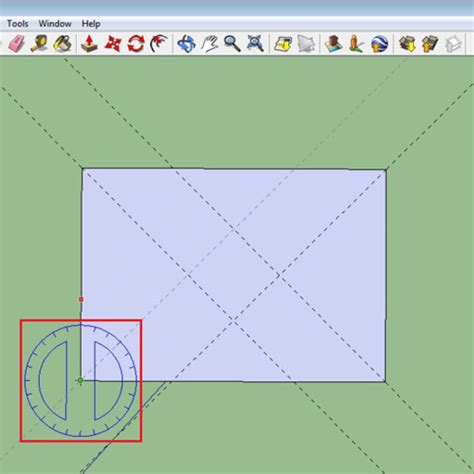 sketchup layout snap to grid how to use the measuring tools in google sketchup howtech