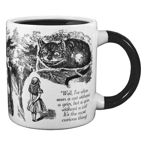 Cat Smile Mug disappearing cheshire cat mug the literary gift company