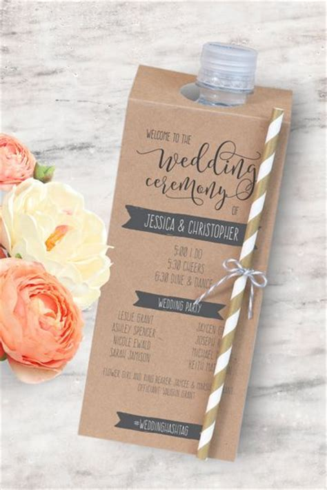 Wedding Ideas Creative by 25 Best Ideas About Wedding Programs On