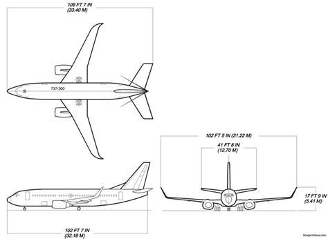 boeing 737 300 plan si鑒es boeing 737 300w plans aerofred free model