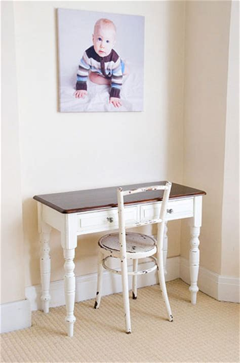 Reader Redesign From Country To Chic Young House Love Shabby Chic Desk Chairs