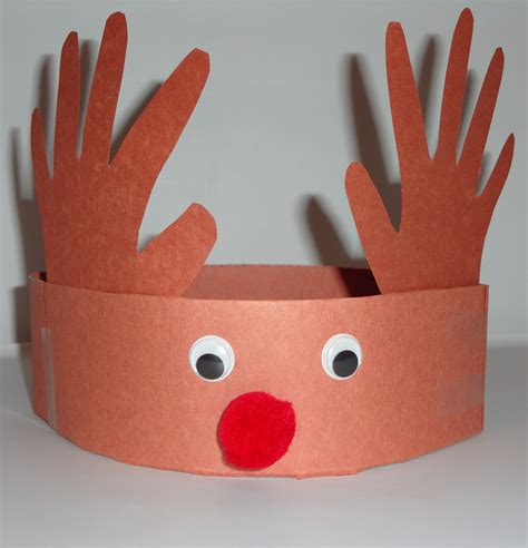 reindeer craft projects reindeer hat