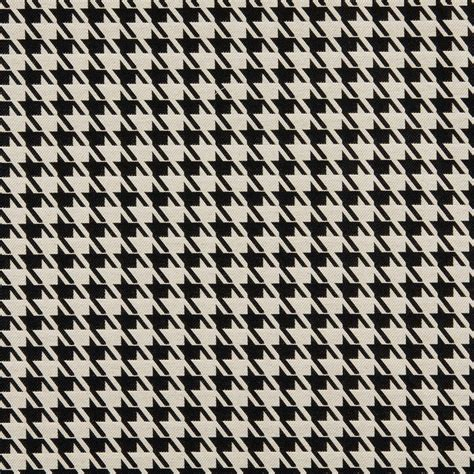 Black And White Upholstery Fabric by Black And White Houndstooth Pattern Damask Upholstery Fabric