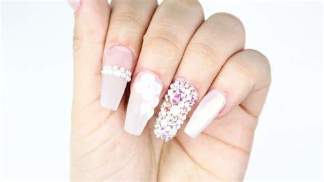 imagenes de uñas blancas con azul tutorial u 241 as blancas trasl 250 cidas youtube